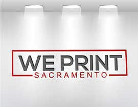 Nro 107 kilpailuun We Print Sacramento Logo käyttäjältä aklimaakter01304