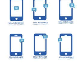 """#119 for Logo for """"Sell Insurance Over Text"""" by sharminakter5333"""