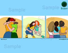 #28 for Set of 3 NFT cards concept about friendship by Javiian16