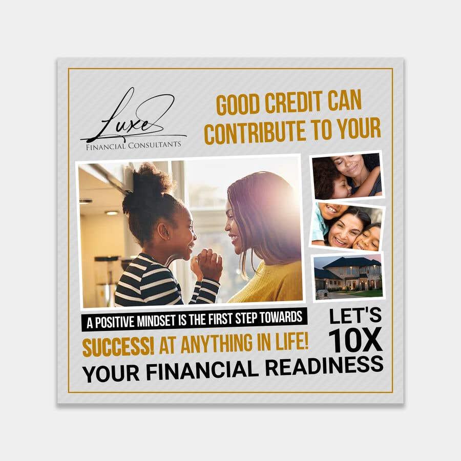 Kilpailutyö #                                        40                                      kilpailussa                                         Content Creation for Credit Repair business