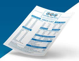 #84 for Price List PDF Design by zakir394