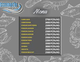 #102 for Design a Fish shop Poster by shafiqah66