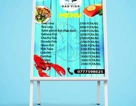 #112 for Design a Fish shop Poster by NoornabilaFL