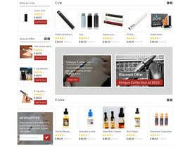 #2 cho Design a Website Mockup for e-Cig company bởi negibheji