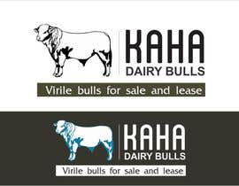 Nro 42 kilpailuun Design a Logo for Kaha Dairy Bulls käyttäjältä creazinedesign