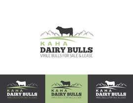 Nro 69 kilpailuun Design a Logo for Kaha Dairy Bulls käyttäjältä JodyDee