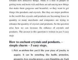 #2 cho I need instructions on how to enchant crystals and pendants bởi FahadTariq123