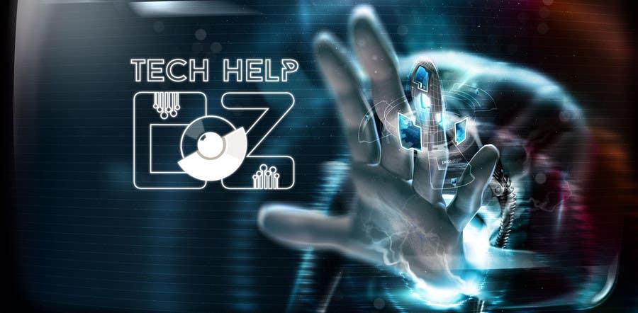 Konkurrenceindlæg #20 for Design a Banner for Tech Help Oz