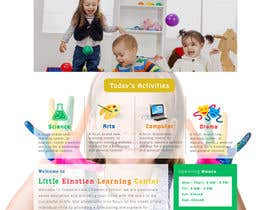 #4 for Design a Website Mockup for Little Einstein's Learning Center (Daycare) af faizalmohamed88