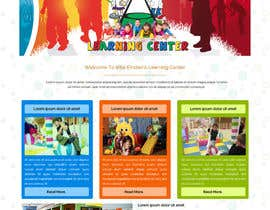 #38 for Design a Website Mockup for Little Einstein's Learning Center (Daycare) af ravinderss2014