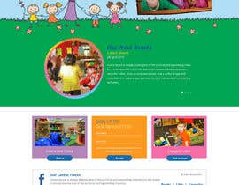#11 for Design a Website Mockup for Little Einstein's Learning Center (Daycare) af azzicreative