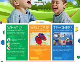 #24 for Design a Website Mockup for Little Einstein's Learning Center (Daycare) af yoyojorjor