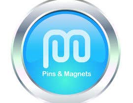 #30 cho Design a Logo for a pin and magnet company bởi lorenamujica