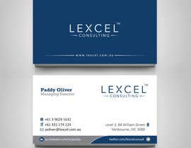 toyz86 tarafından Design some Business Cards for Lexcel Consulting için no 214