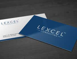 kreativedhir tarafından Design some Business Cards for Lexcel Consulting için no 150