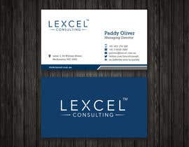 mdreyad tarafından Design some Business Cards for Lexcel Consulting için no 202