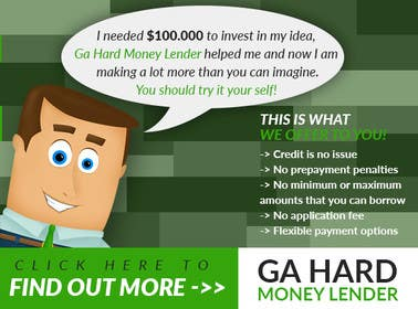 #19 cho Design a Banner for GA Hard Money Lender bởi goranjokanovic