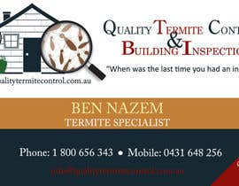 kayleyg tarafından Design some Business Cards for a Pest Control business için no 12