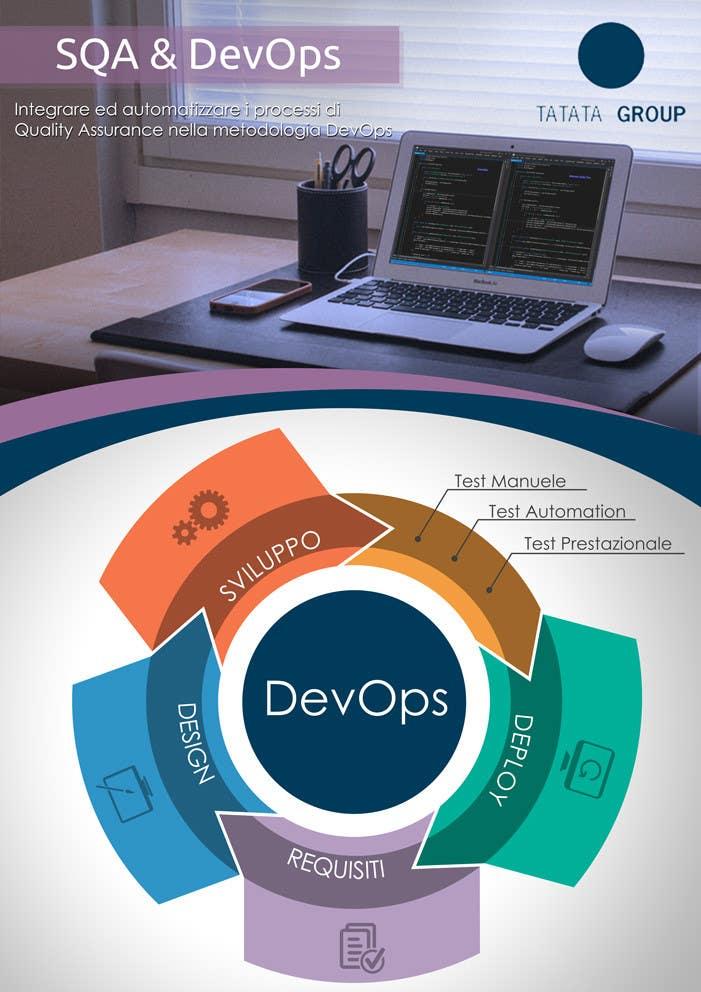 Inscrição nº 6 do Concurso para Design an eye-catchy single page flyer regarding software development topics.
