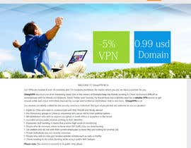 chaulinhtoday tarafından Create a Wordpress Template for cheapvpn.co.za için no 6