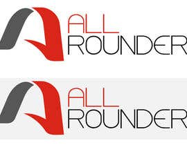 NDPansuriya tarafından Design a Logo With Named (All Rounders) için no 28