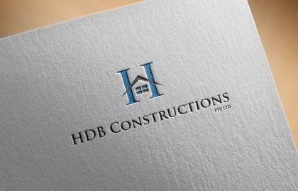#14 untuk Design a Logo for HDB Constructions pty ltd oleh mdrashed2609