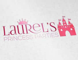 Nro 33 kilpailuun Princess Parties Logo käyttäjältä IllusionG
