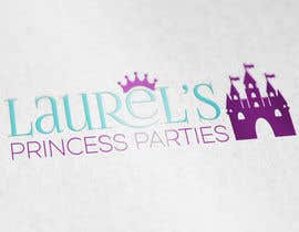 #71 for Princess Parties Logo by IllusionG