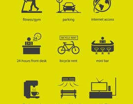 #16 for Design some Icons for hotel amenities af mwa260387