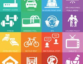 #8 cho Design some Icons for hotel amenities bởi creativeart08
