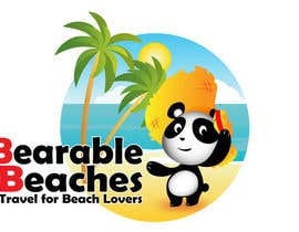 #92 para Design a Logo for Bearable Beaches por BlueMonkeyStudio
