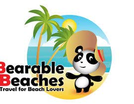 #105 para Design a Logo for Bearable Beaches por BlueMonkeyStudio