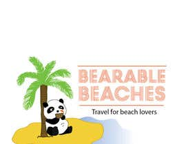 #122 para Design a Logo for Bearable Beaches por ccaste