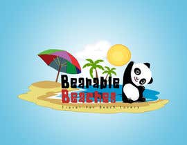 #102 para Design a Logo for Bearable Beaches por ahmedzaghloul89