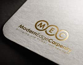 #58 for Design a Logo for Modern Edge Carpentry by tolomeiucarles