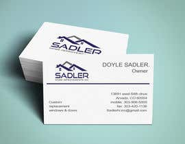 #3 for Design some Business Cards for sadler home improvements af niloynil445