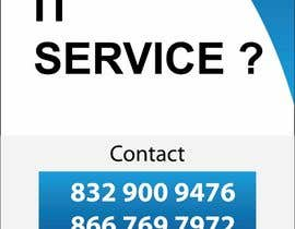 #9 for Design advertisement for IT onsite service. by asurudheen