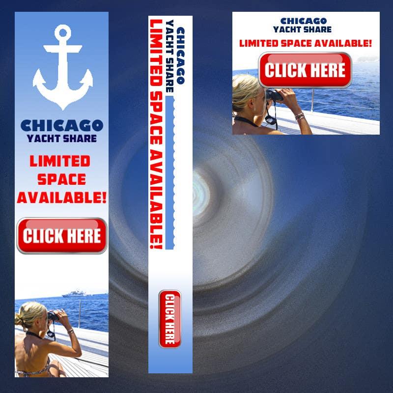 Konkurrenceindlæg #18 for Bare-boat Sailboat Banner Contest