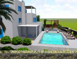 #73 cho Landscape re-design of an exterior area with Pool, Dinning, BBQ , shower and Lounge areas. bởi Shahpal555