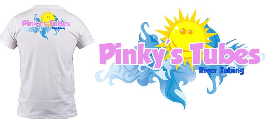 Inscrição nº 31 do Concurso para Design a Logo for River Tubing Company - Pinky's Tubes