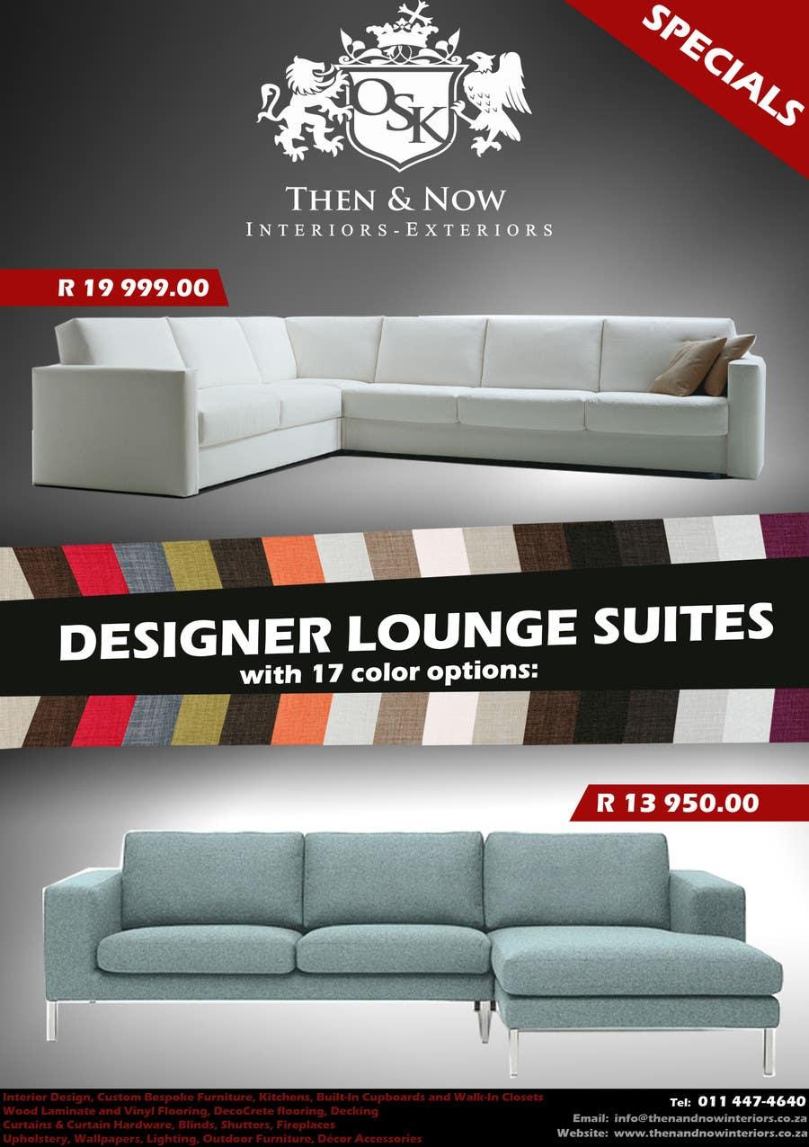 Konkurrenceindlæg #                                        3                                      for                                         Design a Flyer for our interior design business