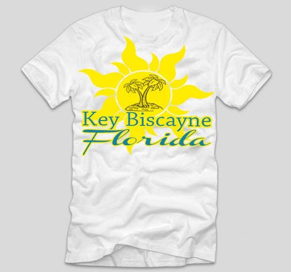 Inscrição nº 63 do Concurso para Design a T-Shirt for Key Biscayne, Florida