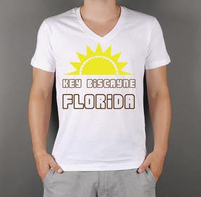 #20 untuk Design a T-Shirt for Key Biscayne, Florida oleh squirrel1811