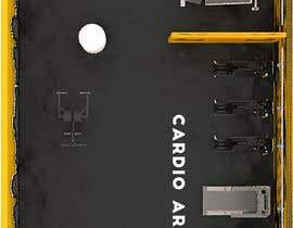 nº 6 pour MDC FITNESS CENTER 3d design par medofifa82