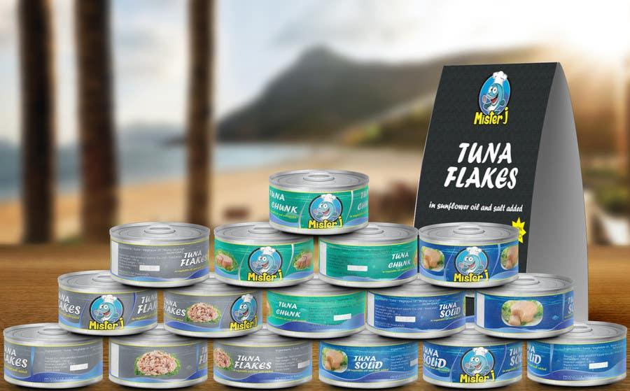 Inscrição nº 16 do Concurso para Canned tuna label and poster design.