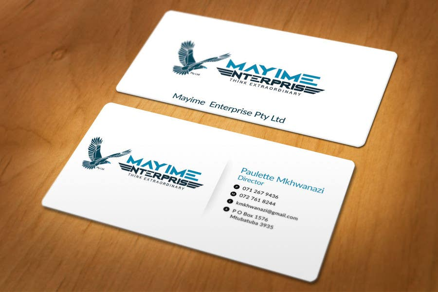 Contest Entry #                                        23                                      for                                         Design a business card for a holding company