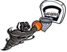 #24 cho Honey badger basketball logo bởi kenagcaoili