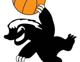 #10 for Honey badger basketball logo af tjayart