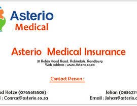 #11 for Design a letterhead and business cards for a medical insurance company by ajivets