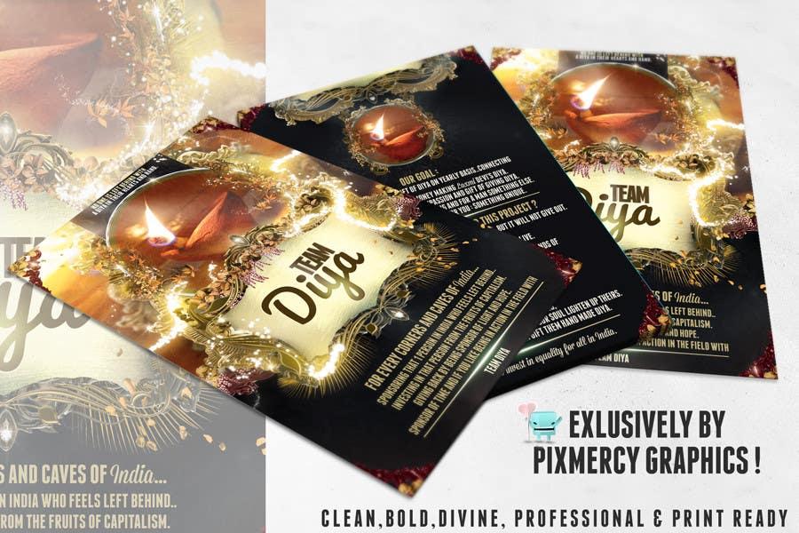 Konkurrenceindlæg #                                        8                                      for                                         Design a Brochure for Hand Made Diya brochure.